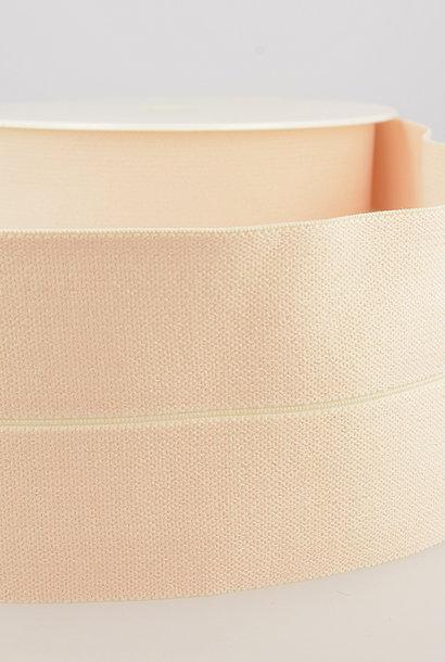 Taille-elastiek (voorgevouwen) - Nude