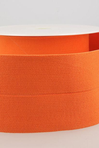 Taille-elastiek (voorgevouwen) - Oranje