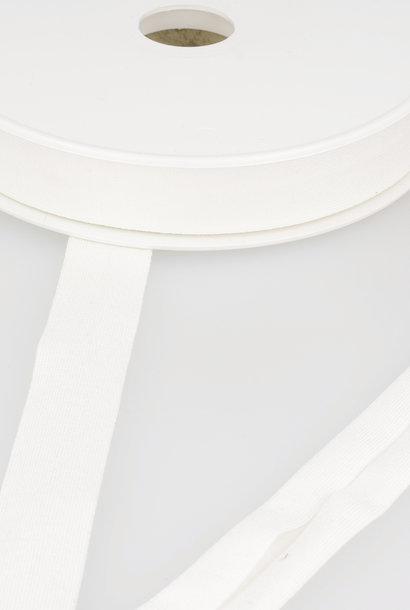 Tricot Biais - 20 mm - Ecru