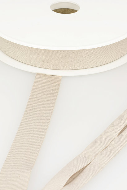 Tricot Biais - 20 mm - Beige/Zandkleur