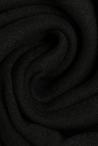 Tricot - fijn gebreid - Zwart