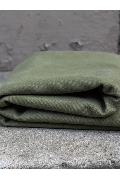 Heavy Washed Canvas 17 oz - Pine