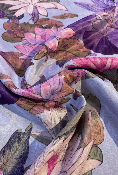 Viscose - Purple Aquarel