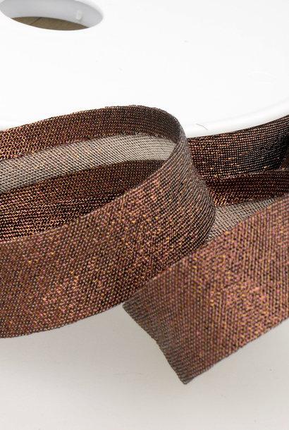 Biais Metallic - 18 mm - Brons