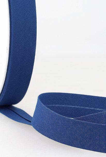 Biais - 20 mm - Koningsblauw