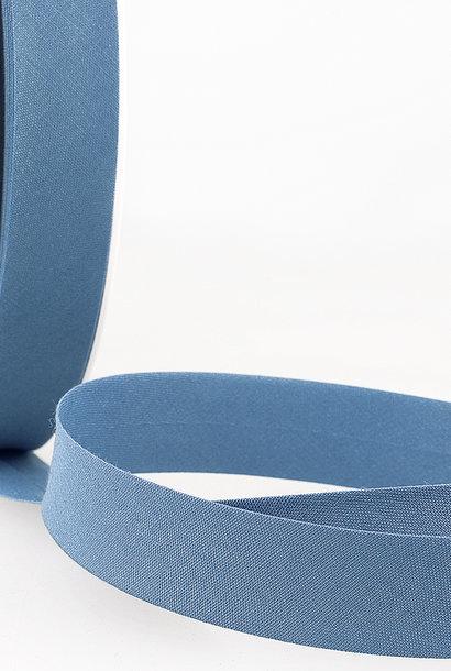 Biais - 20 mm - Jeansblauw
