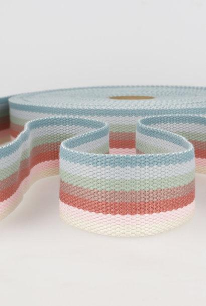 Tassenband (gestreept) - Vintage vibe