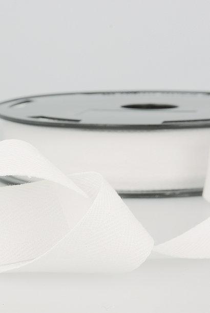 Keperband - 14 mm - Wit