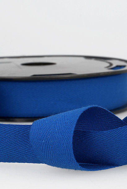 Keperband - 14 mm - Koningsblauw