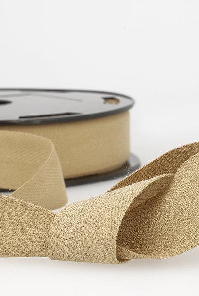 Keperband - 14 mm - Lichtbruin