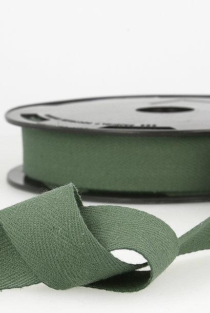 Keperband - 14 mm - Dennengroen