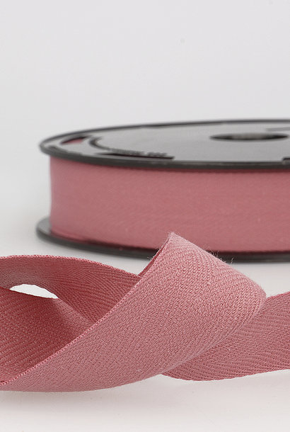 Keperband - 14 mm - Oudroze