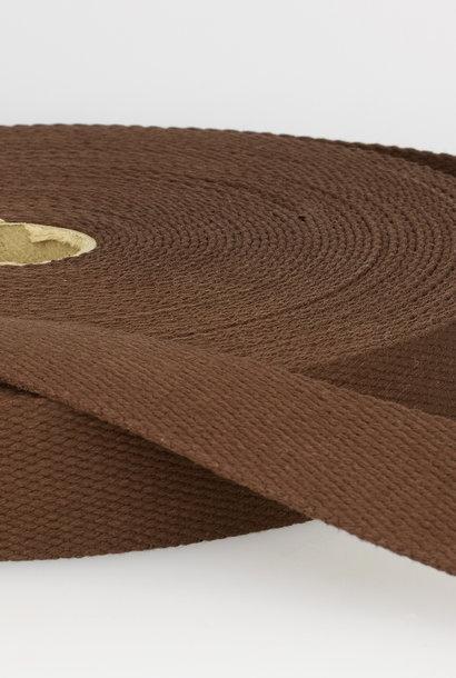 Tassenband - Chocoladebruin