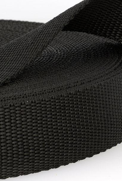Tassenband (waterafstotend) - Zwart