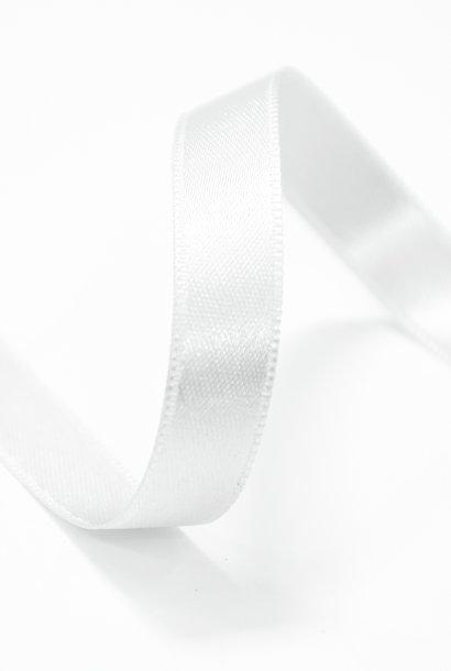 Satijnlint - 15 mm - Gebroken Wit