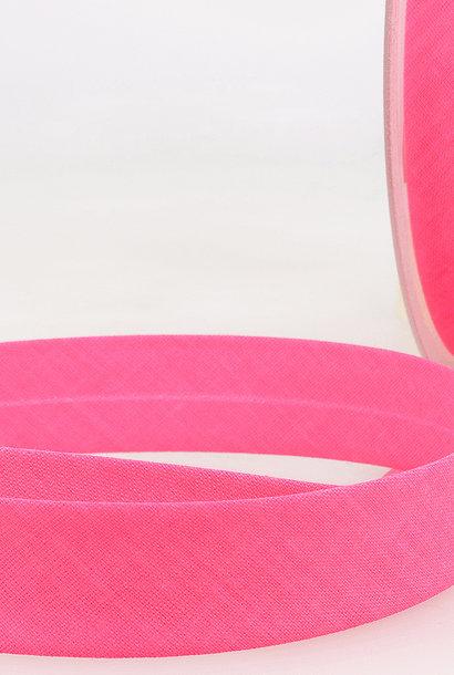 Biais - 20 mm - Fluo Roze