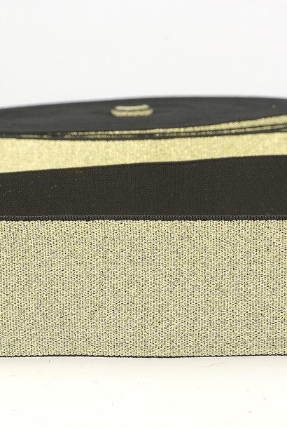 Taille-elastiek (metallic) - Goud