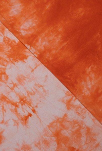 Tricot - Tie Dye - Oranje