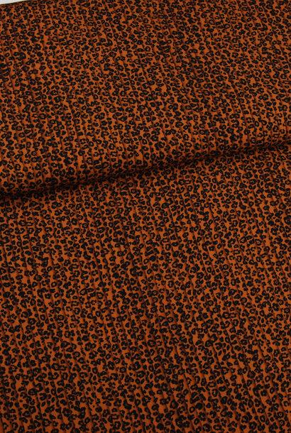 Viscose - Leopard (plissé look)