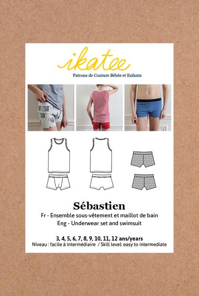 Sébastien kids - Ondergoed set/Zwemshort