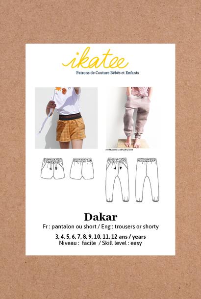 Dakar kids - Short/Broek