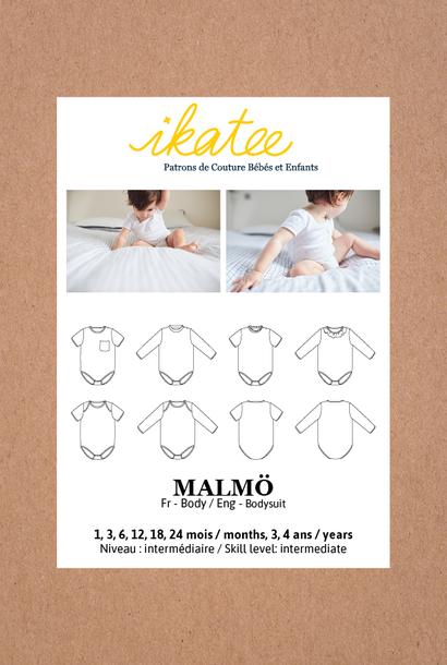 Malmö baby/kleuter - Body (met mouwen)