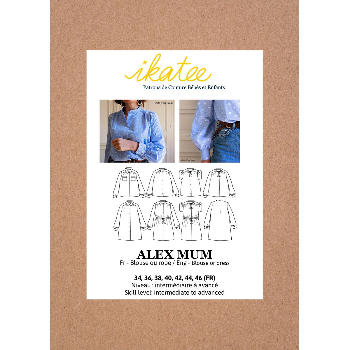 Alex Mum - Blouse/Jurk-1
