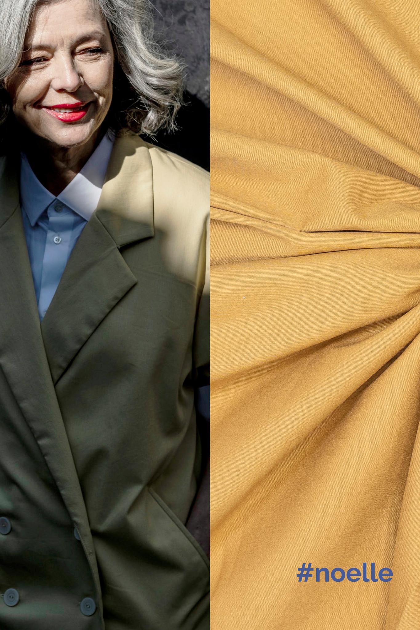 Denim - Noelle & Maya - Lime Yellow-2