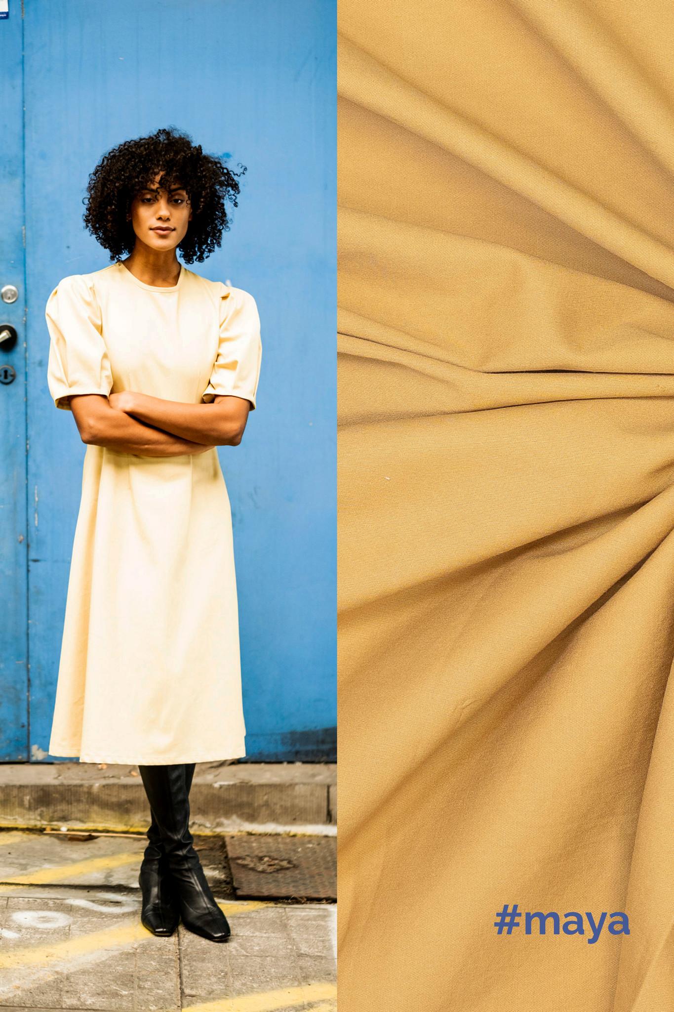 Denim - Noelle & Maya - Lime Yellow-1