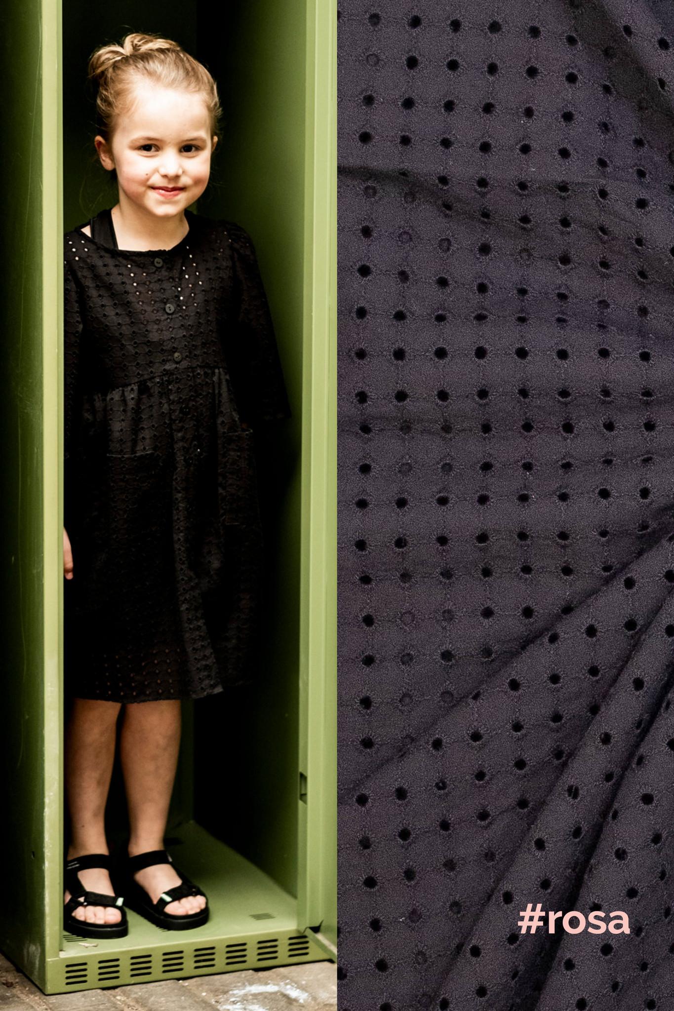 Broidery - Marion & Grace & Rosa - Zwart-3