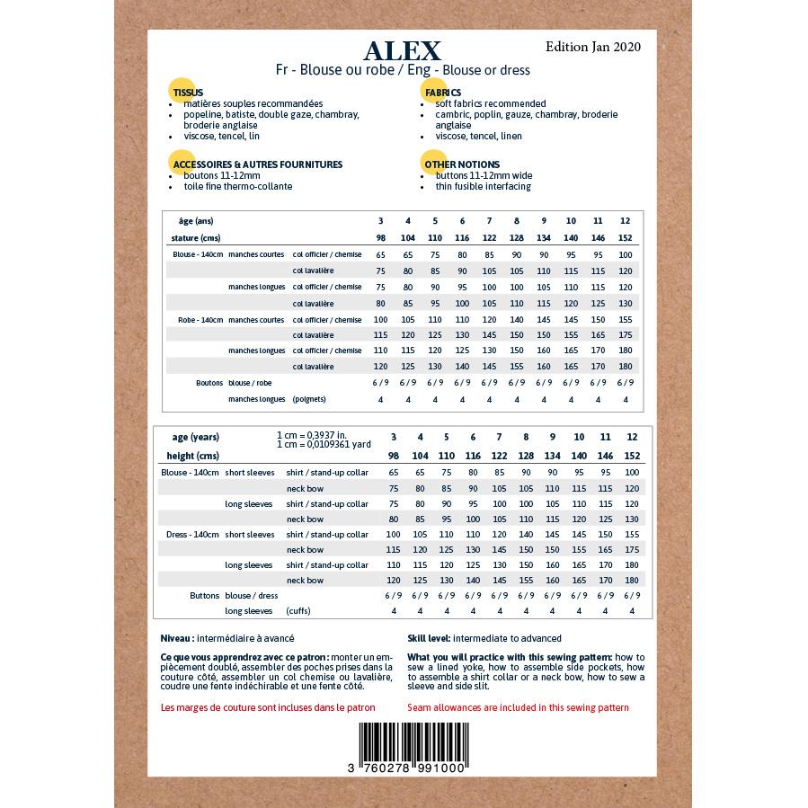 Alex kids - Blouse/Jurk-5