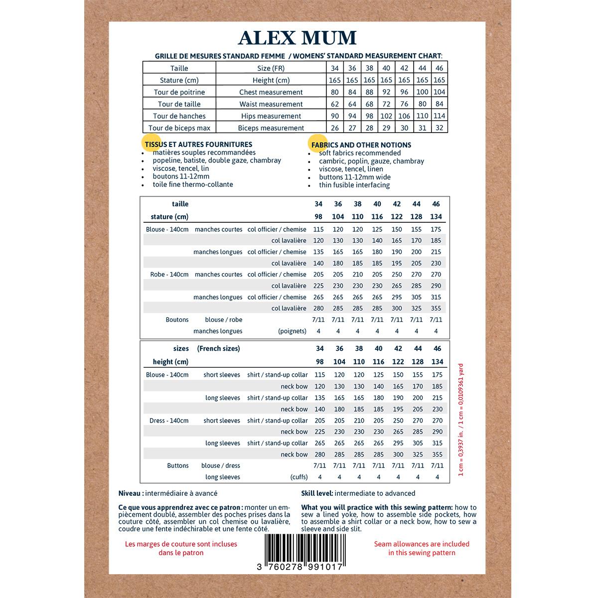 Alex Mum - Blouse/Jurk-10