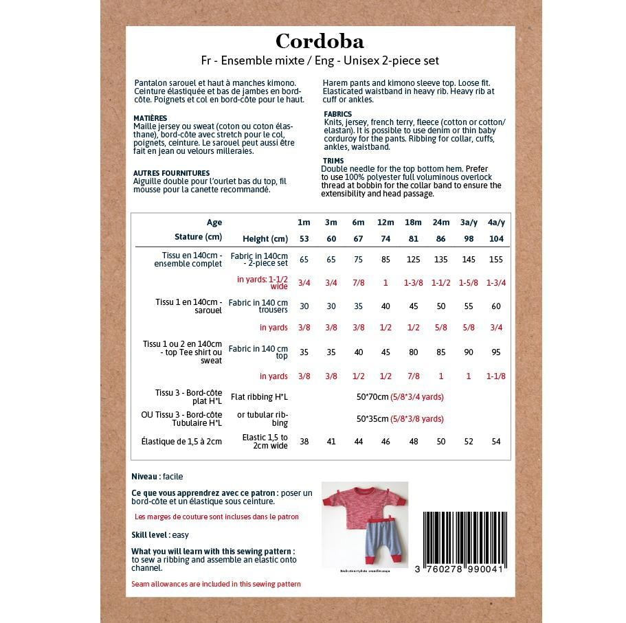 Cordoba baby/kleuter - 2-piece set-5
