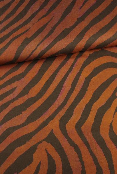 Viscose - Red Zebra