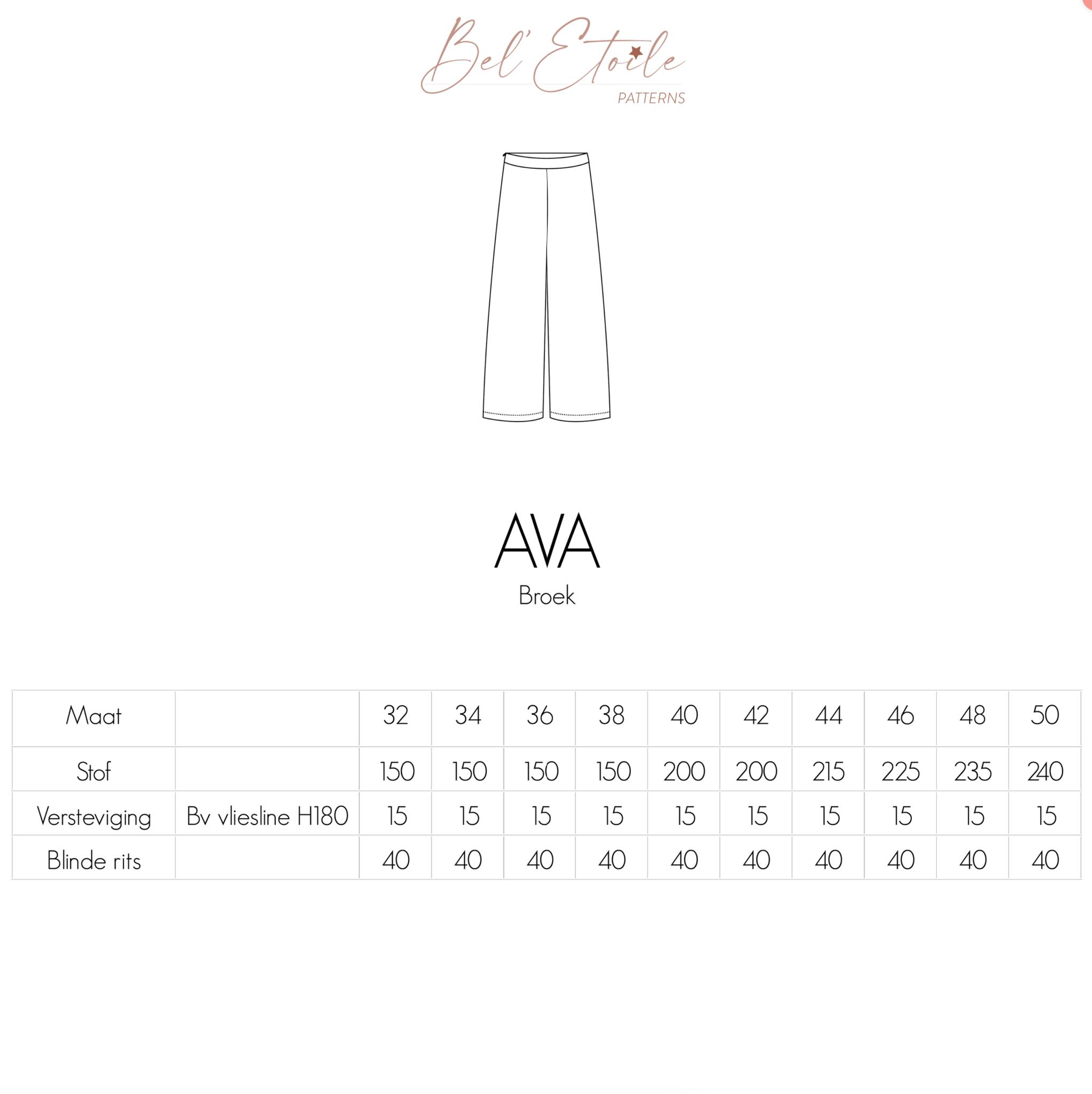 Ava - Broek-5