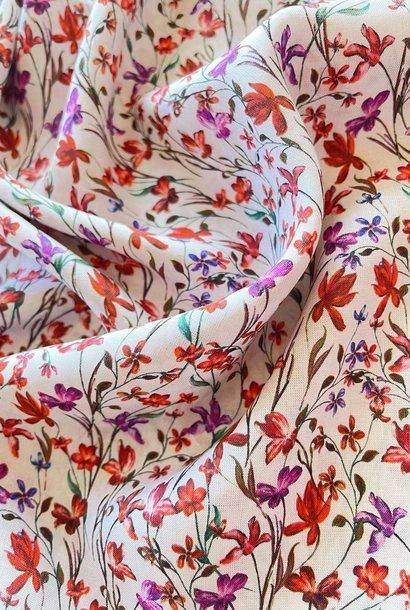 Viscose - Summer flowers