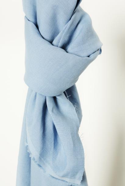Nisa Softened Linen - Faded Blue