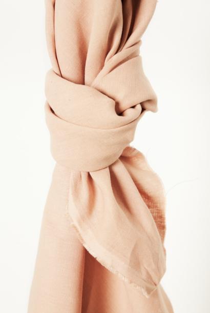 Nisa Softened Linen - Rose