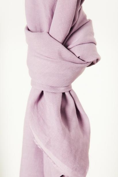 Nisa Softened Linen - Lila