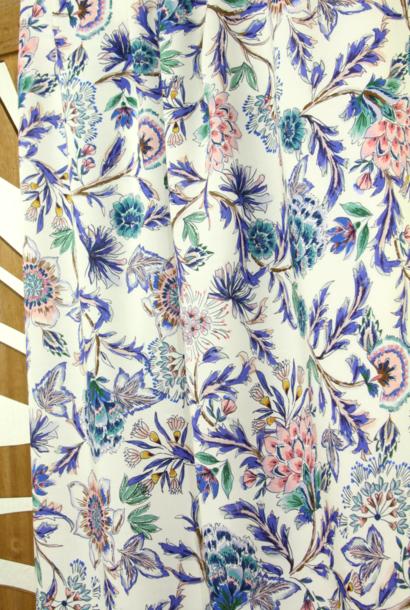 Viscose - Zachte bloemenprint
