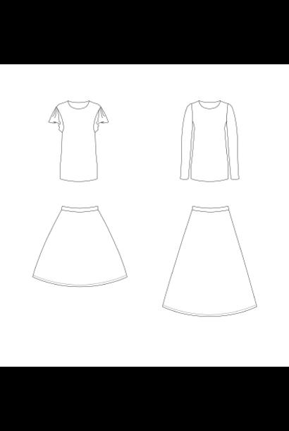 Cora - Shirt & rok