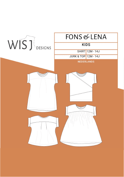 Fons & Lena - Shirt & Jurk (1-14J)-1
