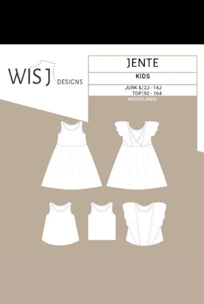 Jente - Mouwloze jurk/Top (2-14J)