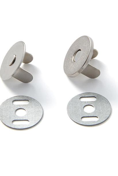 Magneetsluiting - Zilver