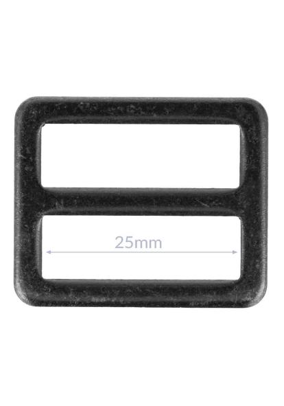 Gesp - Zwart nikkel (25/32 mm)-1