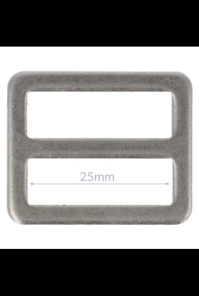 Gesp - Nikkel (25/32 mm)