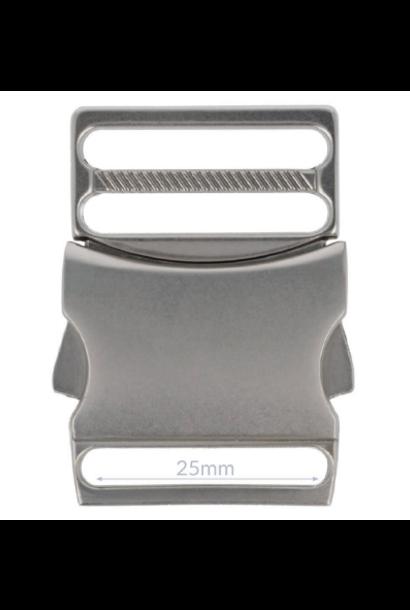 Klikgesp - Nikkel (25/32 mm)