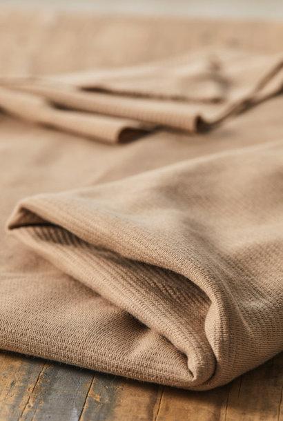 Organic Woolen Ottoman - Dune