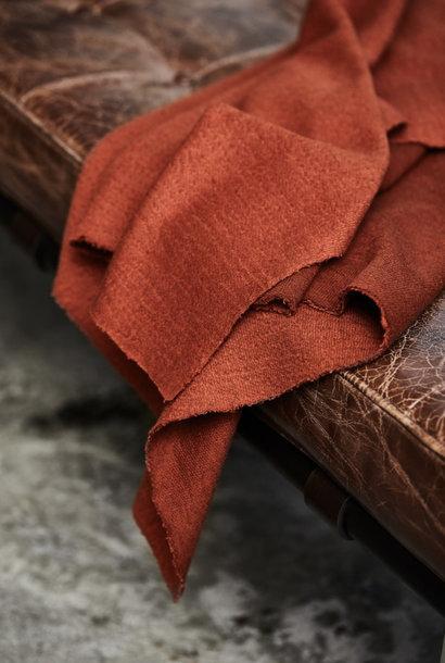 Organic Woolen Mold Sweat  - Sienna