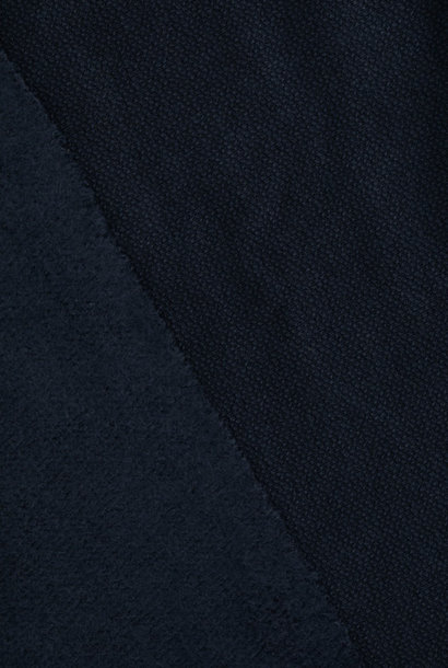 Organic Woolen Fleece Sweat - Indigo Night